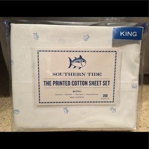 Southern Tide King Tossed Skipjack Sheet Set